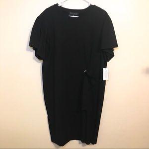 NWT 🆕 Eloquii Black Dress Front Tie Size 14/16